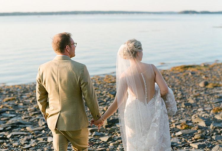 coastal maine wedding portraits - Sarah Der Photography