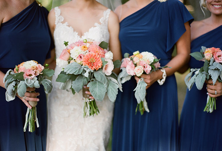beautiful floral design in portland, maine - Sarah Der Photography