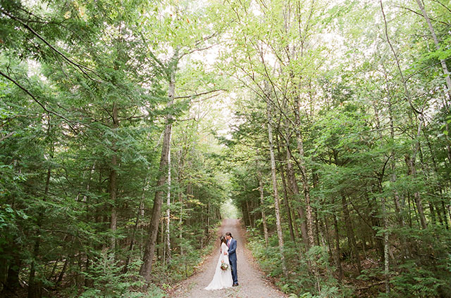 wedding day portraits shot on 35mm film - Sarah Der Photography