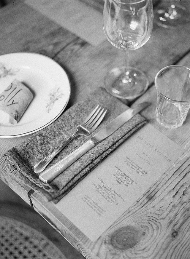 candlelit details at wedding reception - Sarah Der Photography
