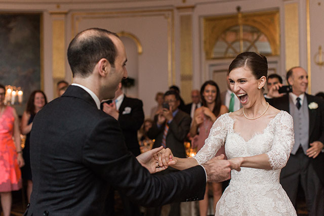 he lotte palace in manhattan dance between bride and groom