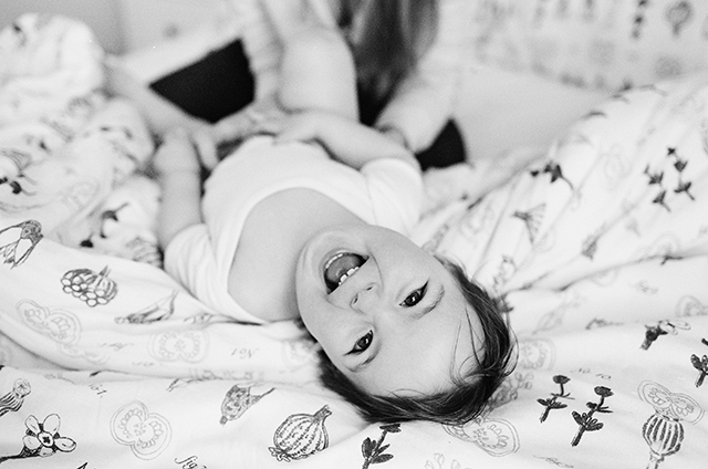 black and white film family sessions at home
