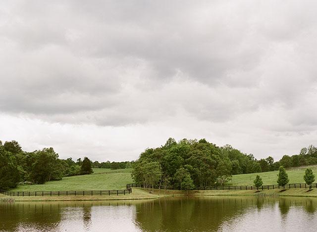Lakeside ceremony site in Charlottesville, VA