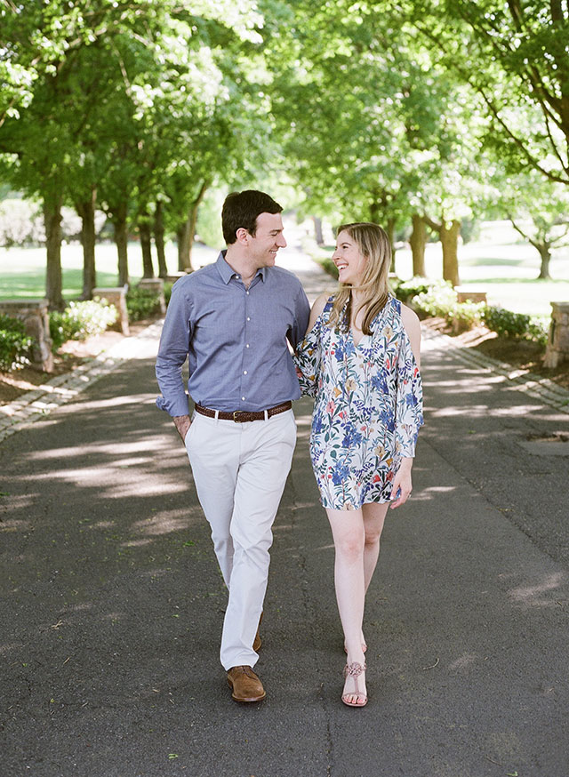 Bethesda Country Club engagement session