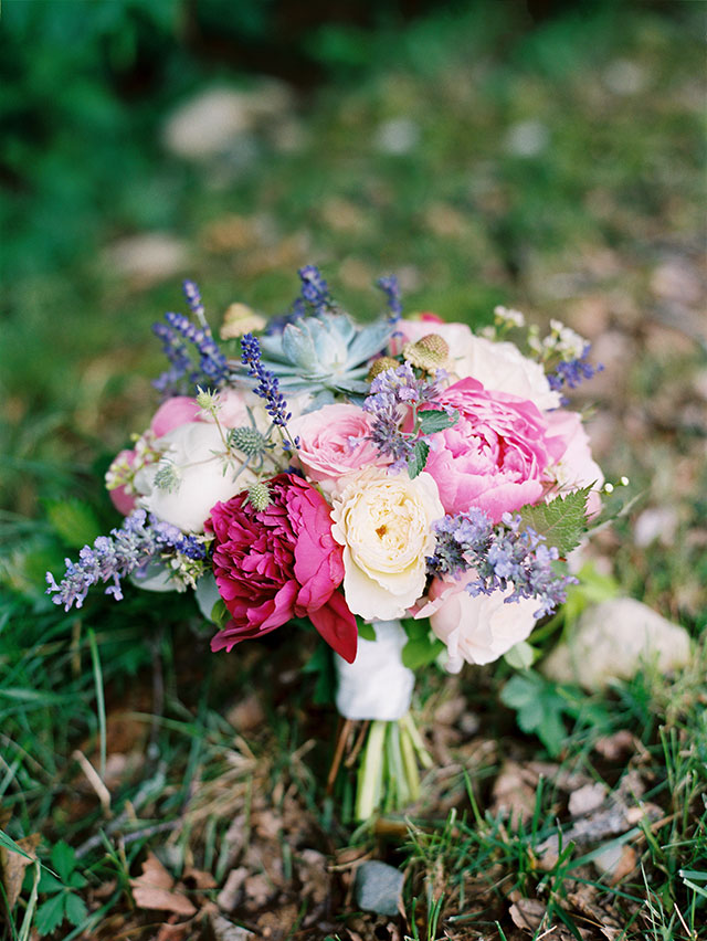 beautiful and creative floral design by michelle peele using summer florals in shades of pink.