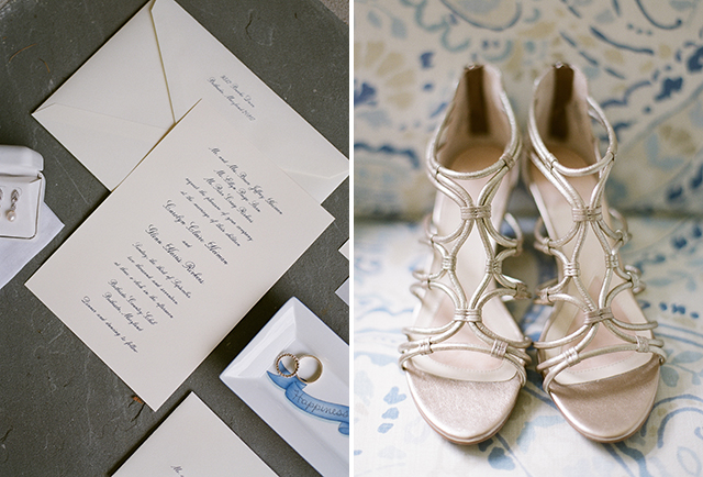 The Dandelion Patch wedding invitation custom design