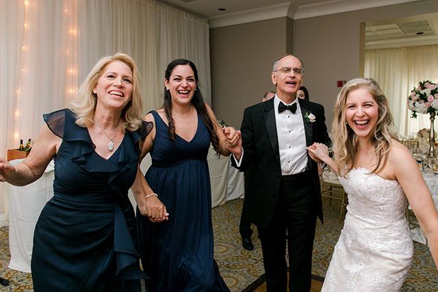 Reception photos from Bethesda country club wedding reception