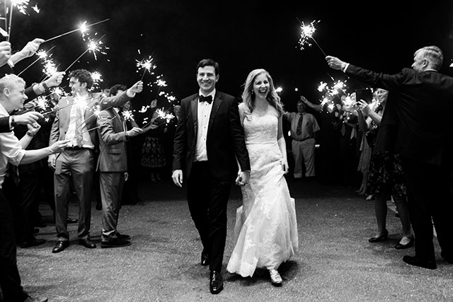 sparkler exit at bethesda country club