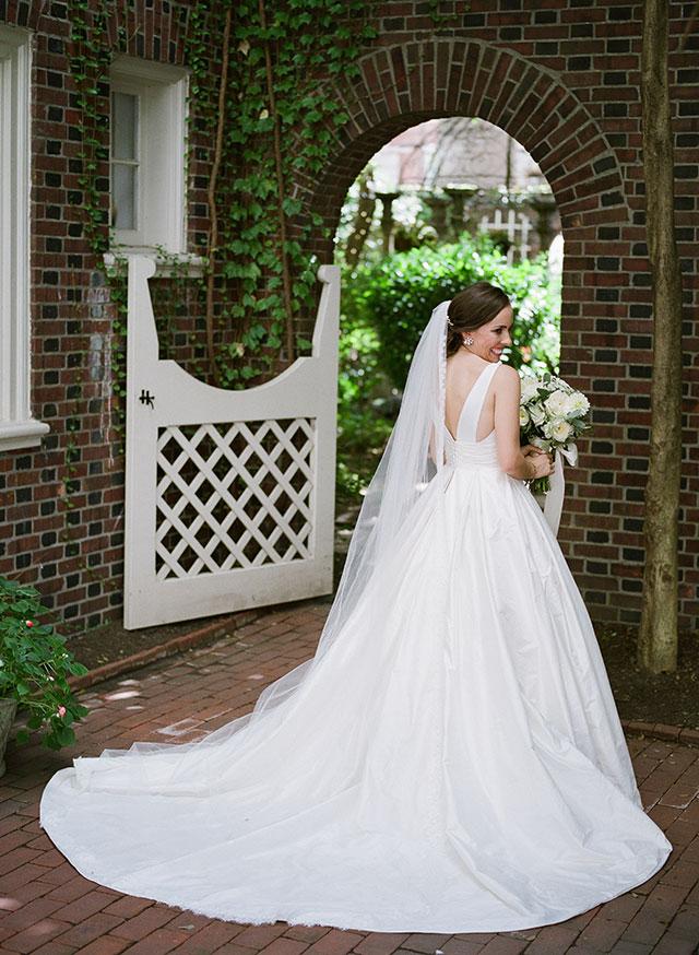 Morris House Hotel bridal portraits
