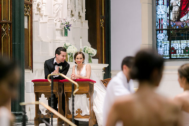 St. John the Evangelist Catholic Church wedding