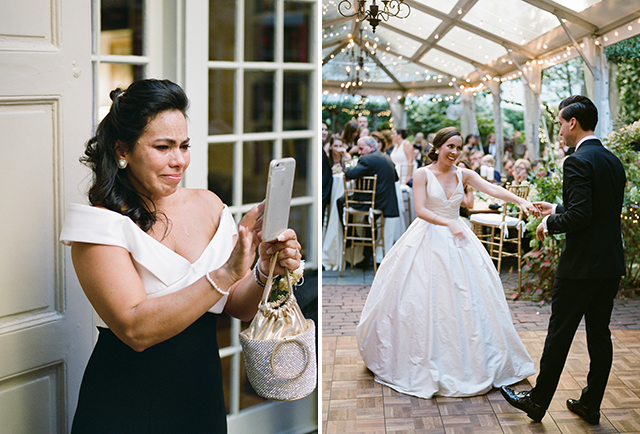 Brass Tack Events in Philly planned an outdoor garden reception