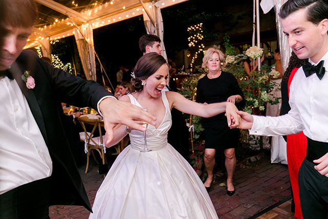 Silver Sound Entertainment keeps everyone dancing at the reception!