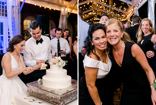 The Baker's Jar wedding cake design