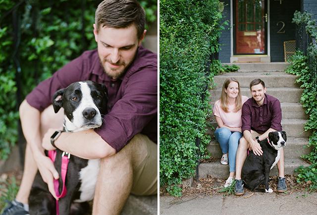 Richmond engagement session shot on film  - Sarah Der Photography