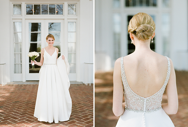 outdoor film film bridal session outside CCV in Richmond - Sarah Der Photography