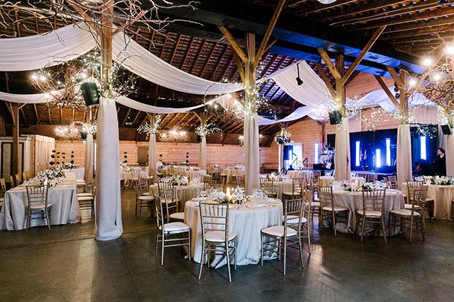 Fearrington Barn reception  - Sarah Der Photography