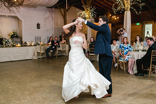 first dance twirling - Sarah Der Photography