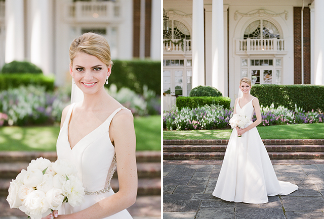 film bridal portraits at CCV in richmond, VA by Sarah Der Photography