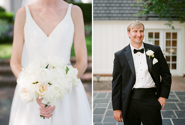 petals and twigs floral design for weddings in Richmond, VA by Sarah Der Photography