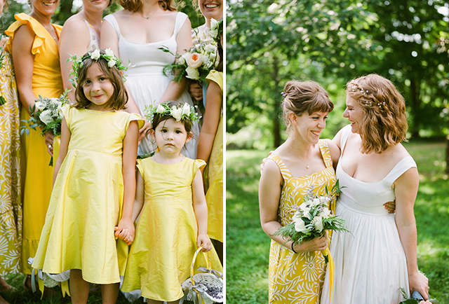Floral crowns for flower girls - Sarah Der Photography