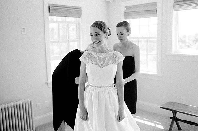 "I KNOW HOW YOU FEEL!!! I'll spend most of your wedding day with a grin on my face and sometimes, tears in my eyes. Marriage is a beautiful thing and I am so delighted to celebrate my couples as they say ""I do."" #sarahderphotography #film #ilford #filmweddingphoto #filmweddingphotographer #virginiaweddingphotographer #rvaphotographer"