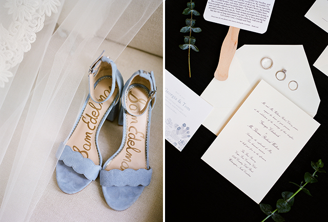 invitation suite styled on styling board by Sarah Der