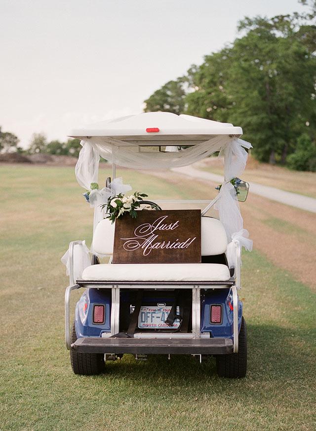 Custom golf cart getaway!