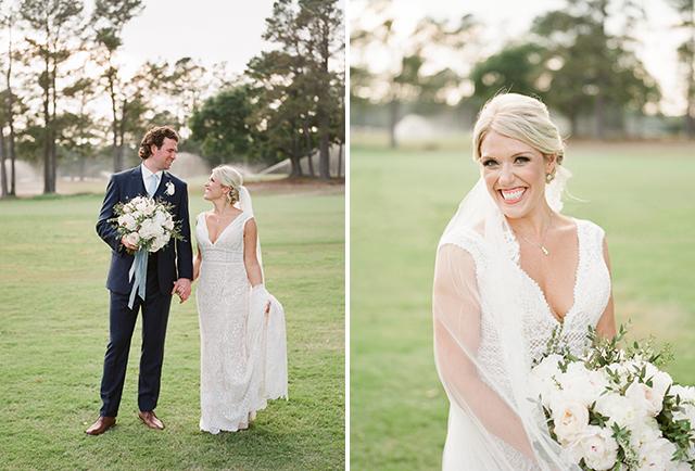 Film wedding photography for summer wedding in Wilmington by Sarah Der