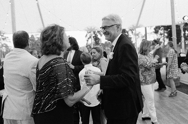 Parents of the groom dance