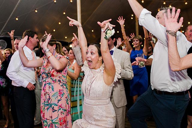 Crazy dancing photos of guest By Sarah Der