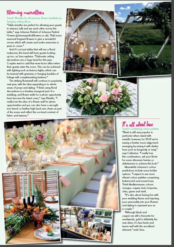 Your Surrey Wedding Venue Styling Feature