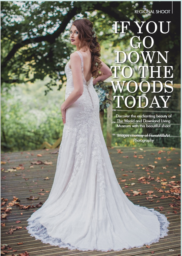 Styled shoot at Weald & Download featured in YSW