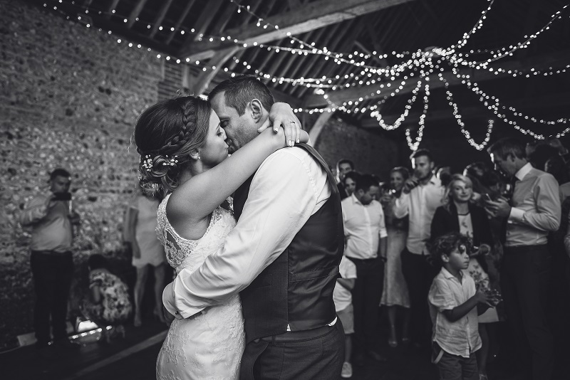 Our fairy light canopy installed at  Cissbury Barns . Photo credit  Sara Reeve Photography.