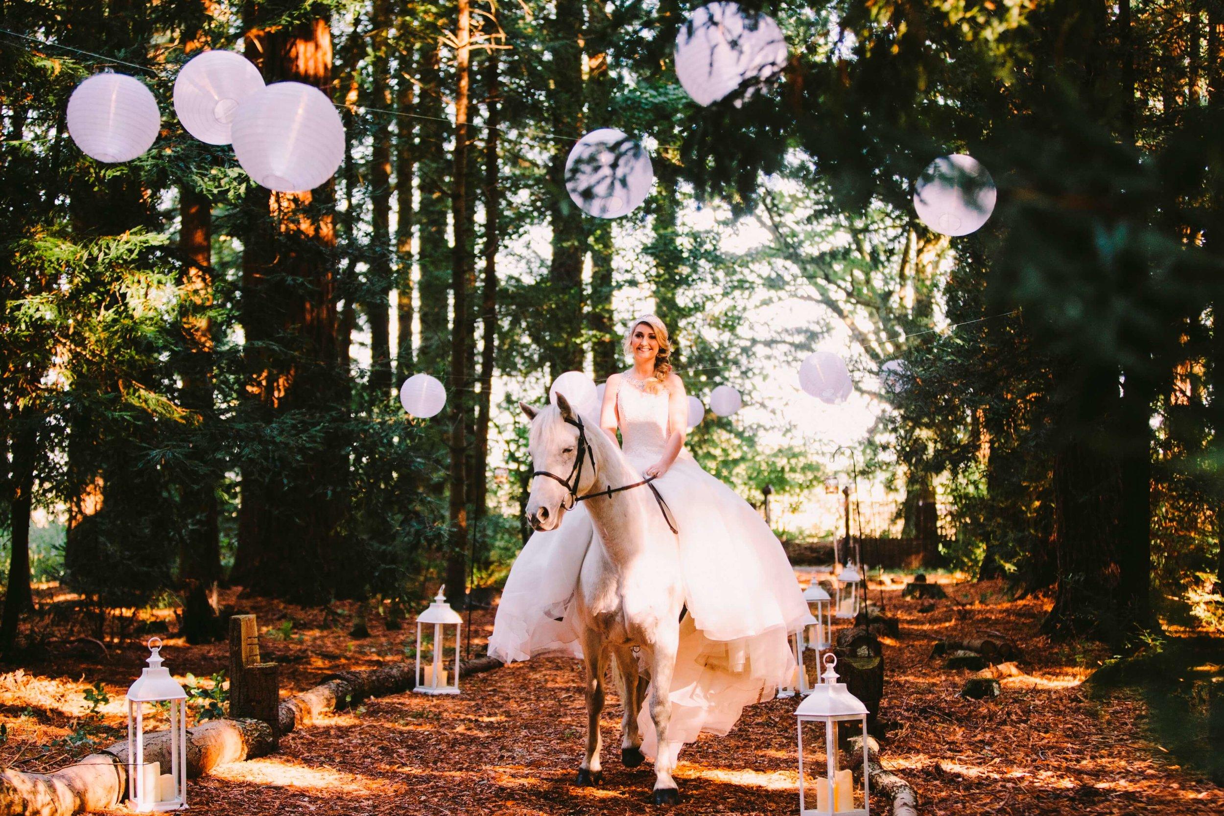 Woodlands wedding outdoor wedding fairy tale wedding