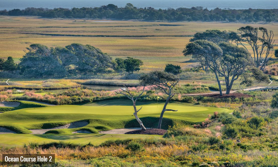 The Ocean Course at the  Sanctuary at Kiawah Island