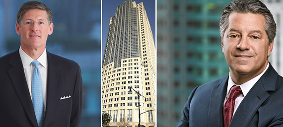 From left: Citigroup CEO Michael Corbat, 388Greenwich Street and Marc Holliday