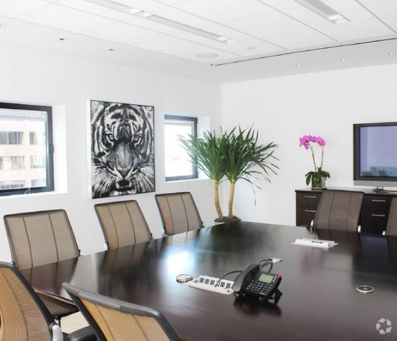 Square conference room table