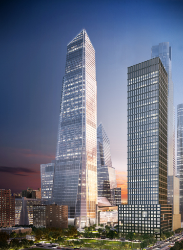 A rendering of 30 Hudson Yards. : Related Companies.