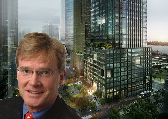 Silver Lake co-founder Jim Davidson and 55 Hudson Yards