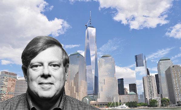 The Stagwell Group's President and Managing Partner Mark Penn and One World Trade Center