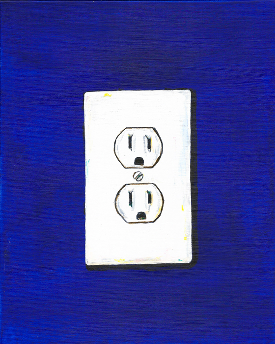 electrical outlet (mundane series)