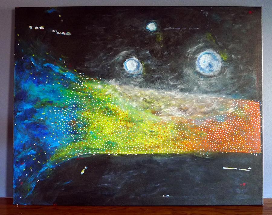 Untitled (light bursts)