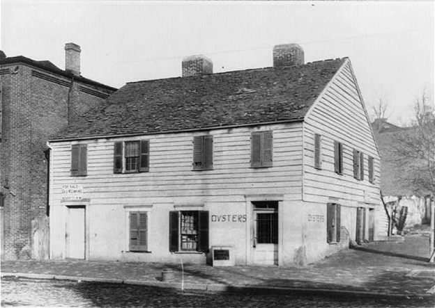Suter's Tavern (The Fountain Inn) in Georgetown (Library of Congress)