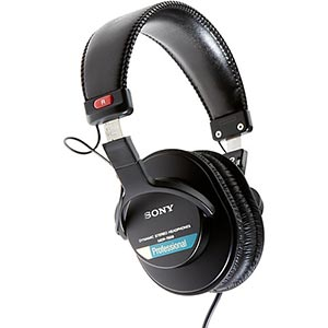 Sony MDR 7506 Headphones -