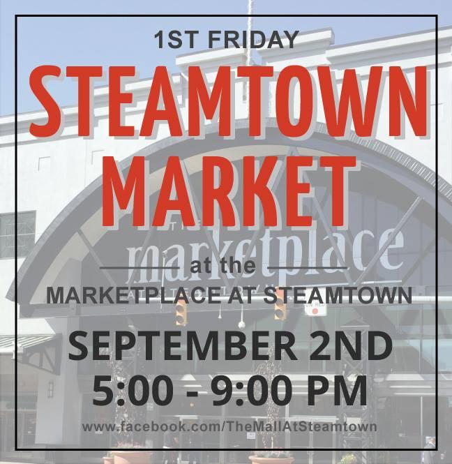 1st friday steamtown market