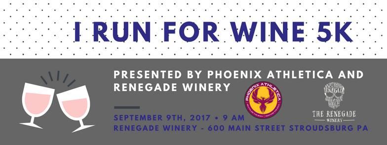 i run for wine