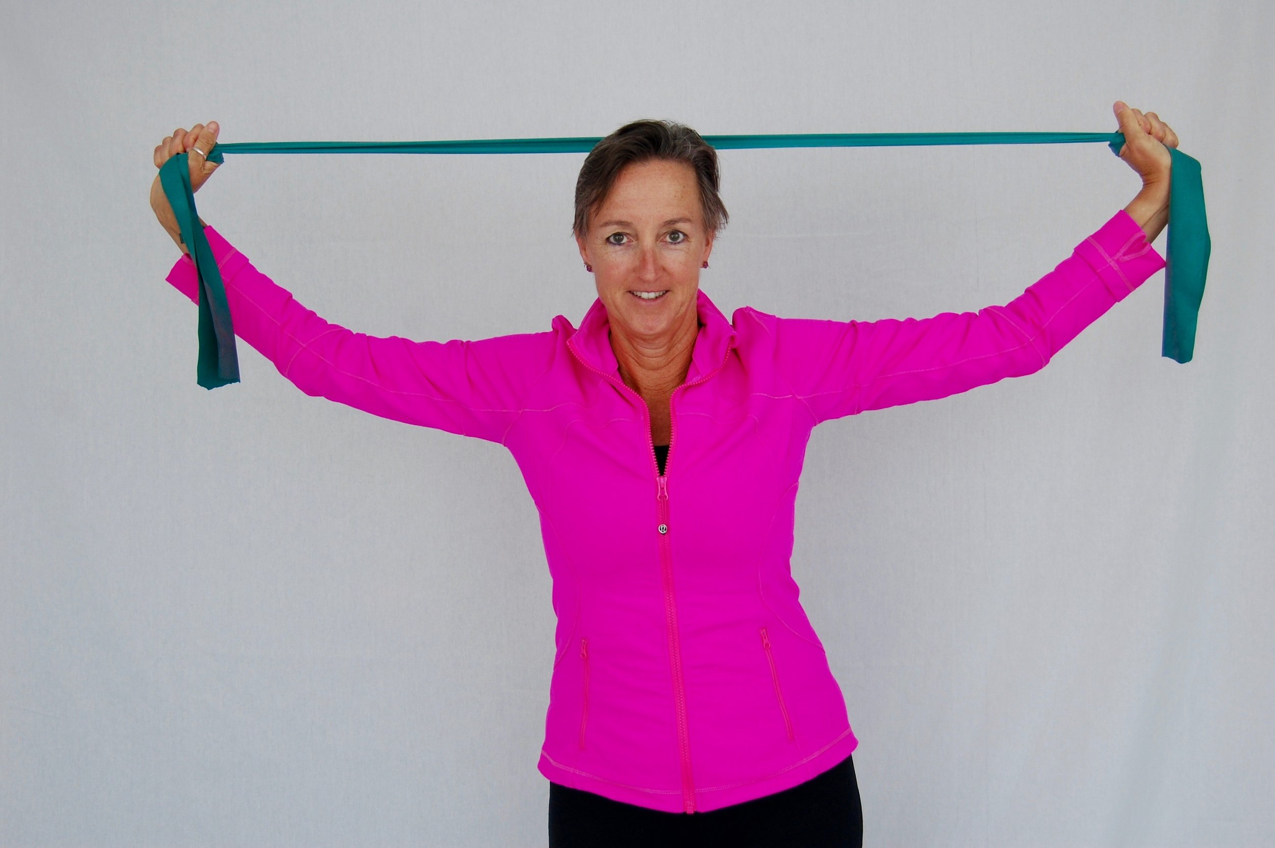 Exercise bands are the easiest gear you'll ever pack.