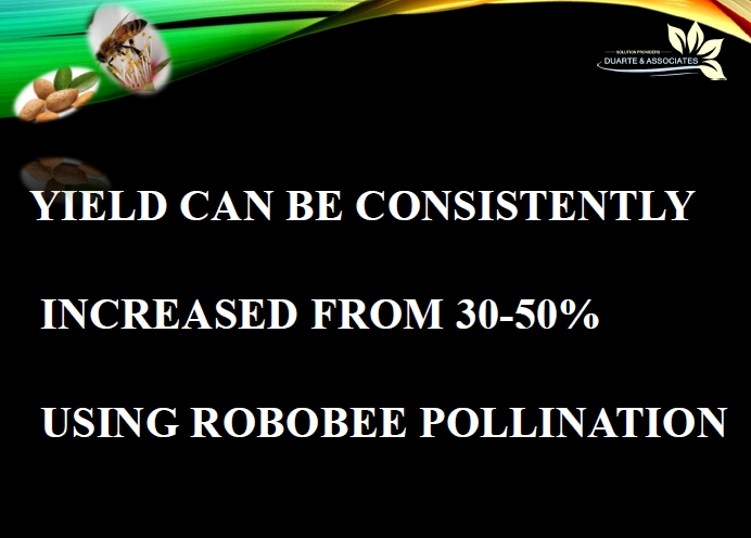 Robobee Pollenation Increases Yield