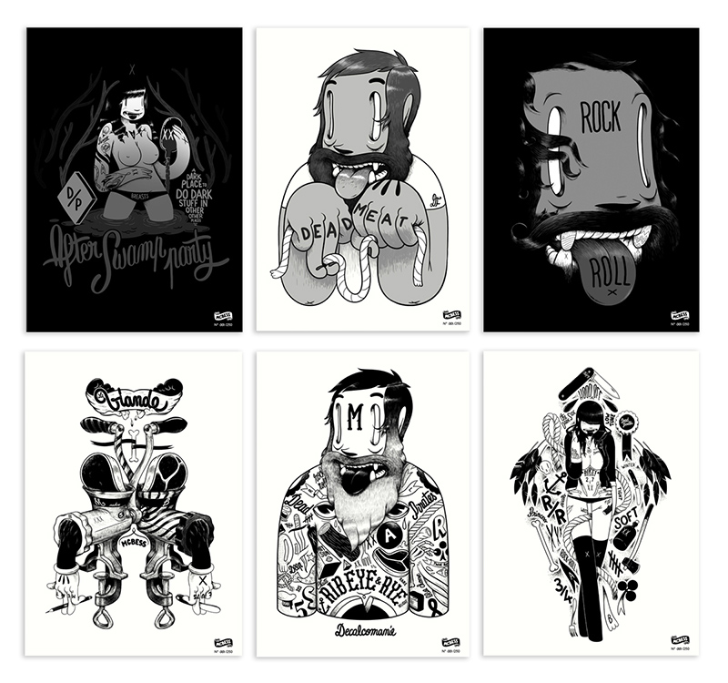 It's christmas time, I mean it's that time of the year, and you might want to buy gifts for someone or for yourself, or for that precious someone that you keep stalking but don't have the nerves to approach.   Now I know originals are expensive and it's why with the Dudes we've put together a small selection of numbered giclée prints (edition of 250) for the affordable price of 19.90 €.   Here's where you can get yours ! : http://www.dudes-factory.com/europe_euro/shop/prints/digitalprints.html   enjoy   mcbess