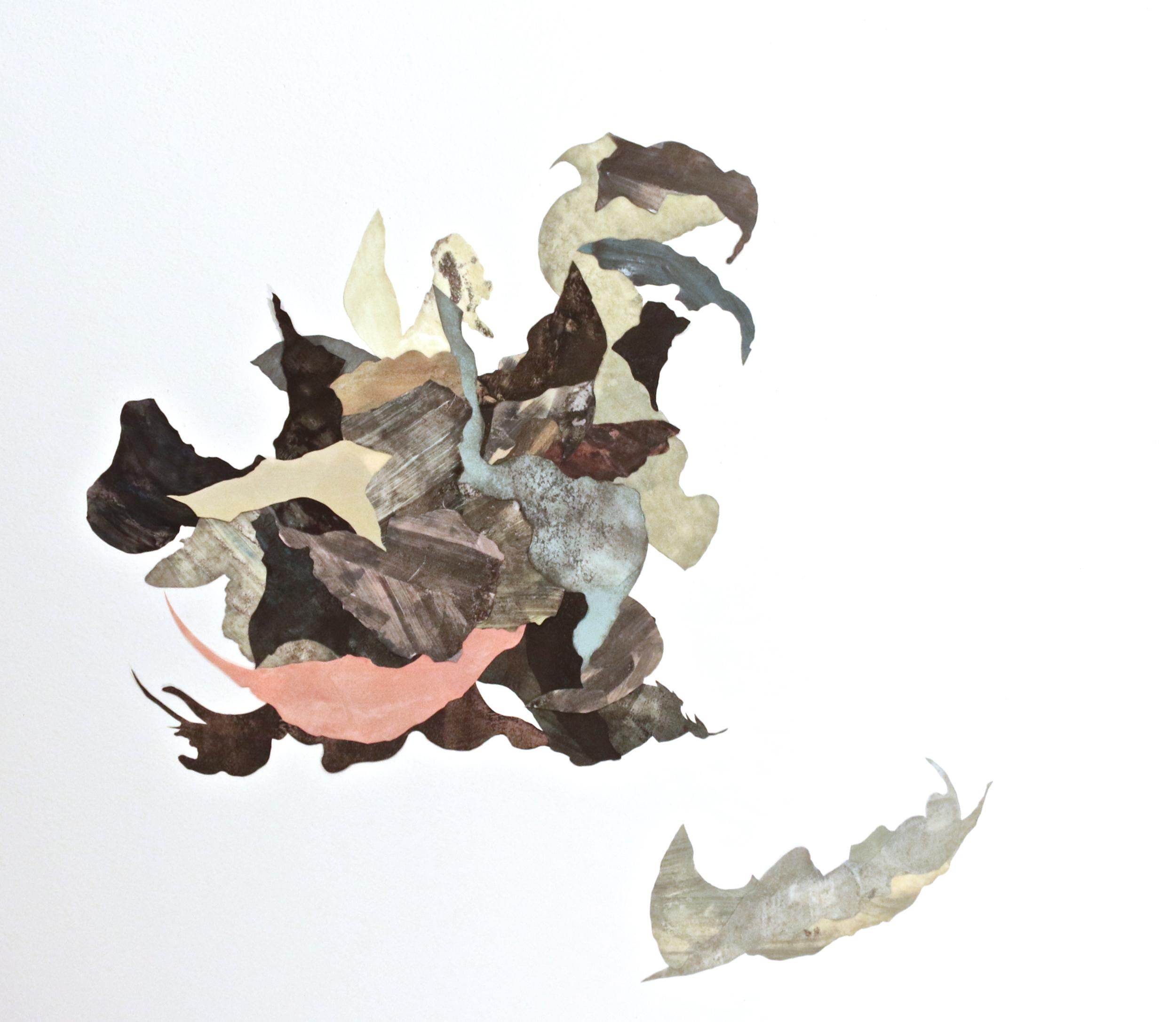 Happens Trace, 2014, 30x30cm, edition: unique